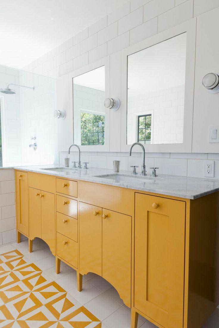 nestor yellow vanity