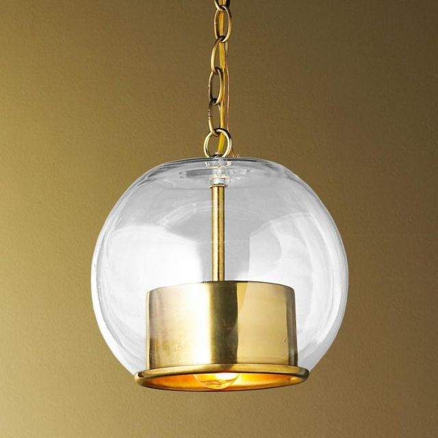 cap and globe pendant
