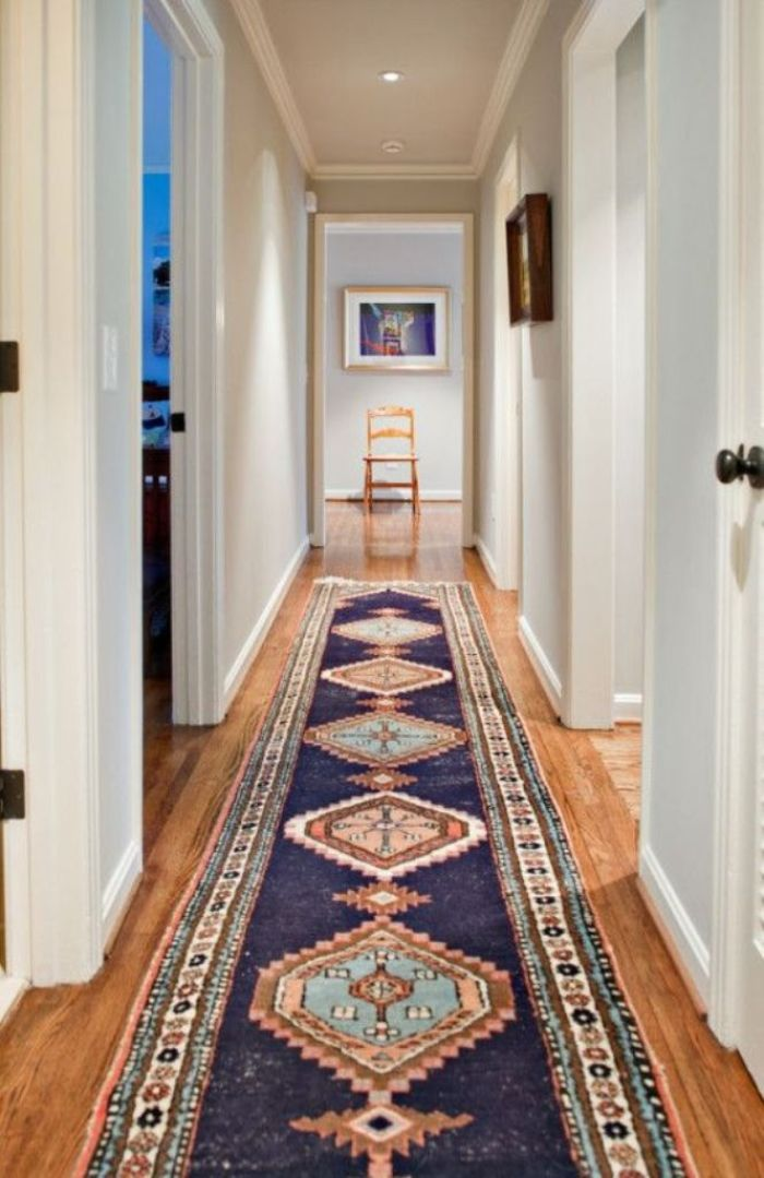 hallway decorating ideas runner
