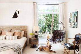 Rustic Wood in Patrick Dempsey's Malibu Home