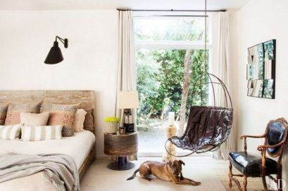 Rustic Wood in Patrick Dempsey's Malibu Home