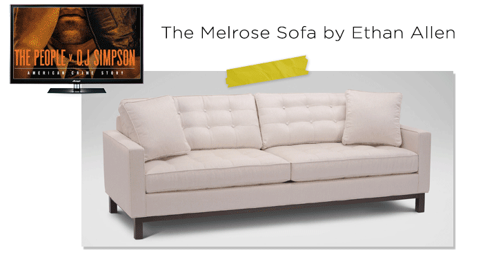 Melrose-Sofa-and-oj-simpson-TEOT-TV-SOFA