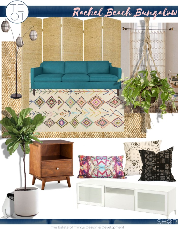 Rachel Beach Bungalow Design Board copy