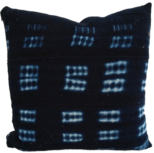 vintage_african_indigo_mudcloth_pillow_ladder_by_the_estate_of_things_for_shop_teot