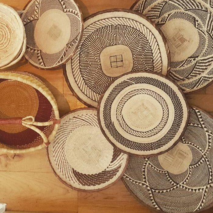 African Baskets SHOP TEOT by the estate of things