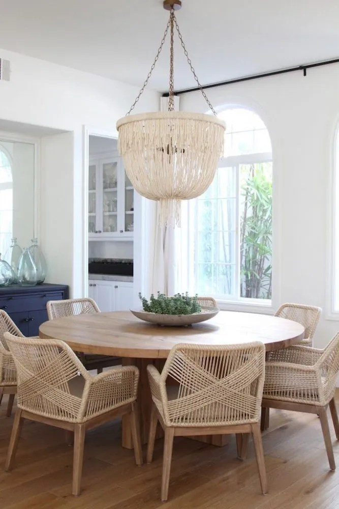 Woven Dining Chairs Becki Owens