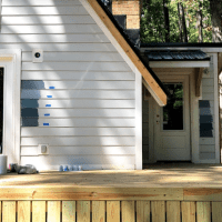 A-Frame Project: Exterior Paint Color