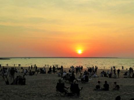 Sunset on MIndil Beach