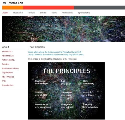 The Nine Principles MIT