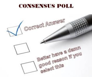 scientific consensus survey