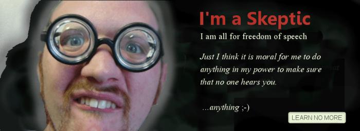 I'm a Skeptic Karfunkle free speech - Copy