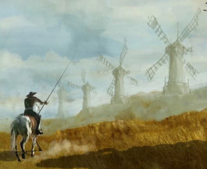 Why do we celebrate don quixote