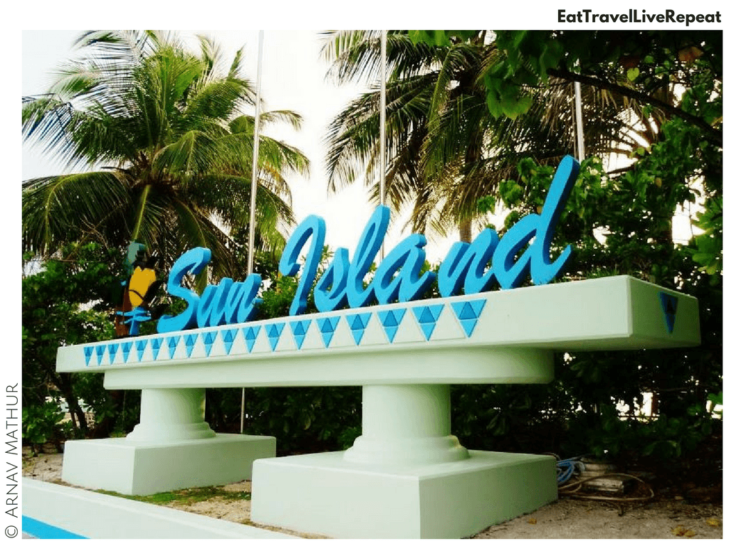 Birthday at Sun Island Resort Maldives