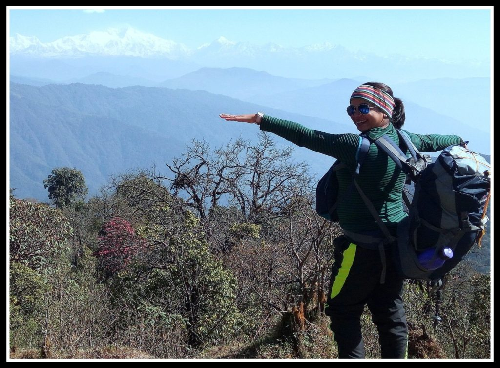 Debjani Lahiri - Author trek to sandakphu