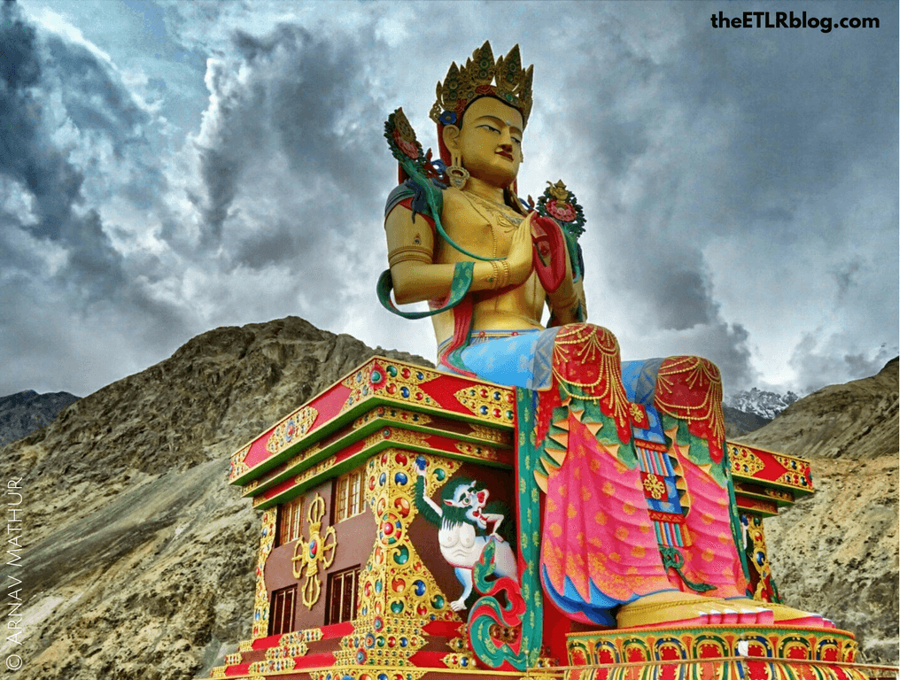 Photo Journey to Leh - Ladakh - Diskit Monastery