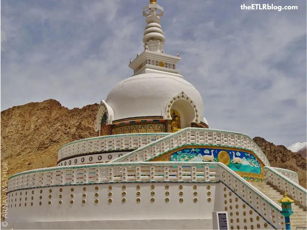 Ladakh your Instagram favorite destination - Shanti Stupa