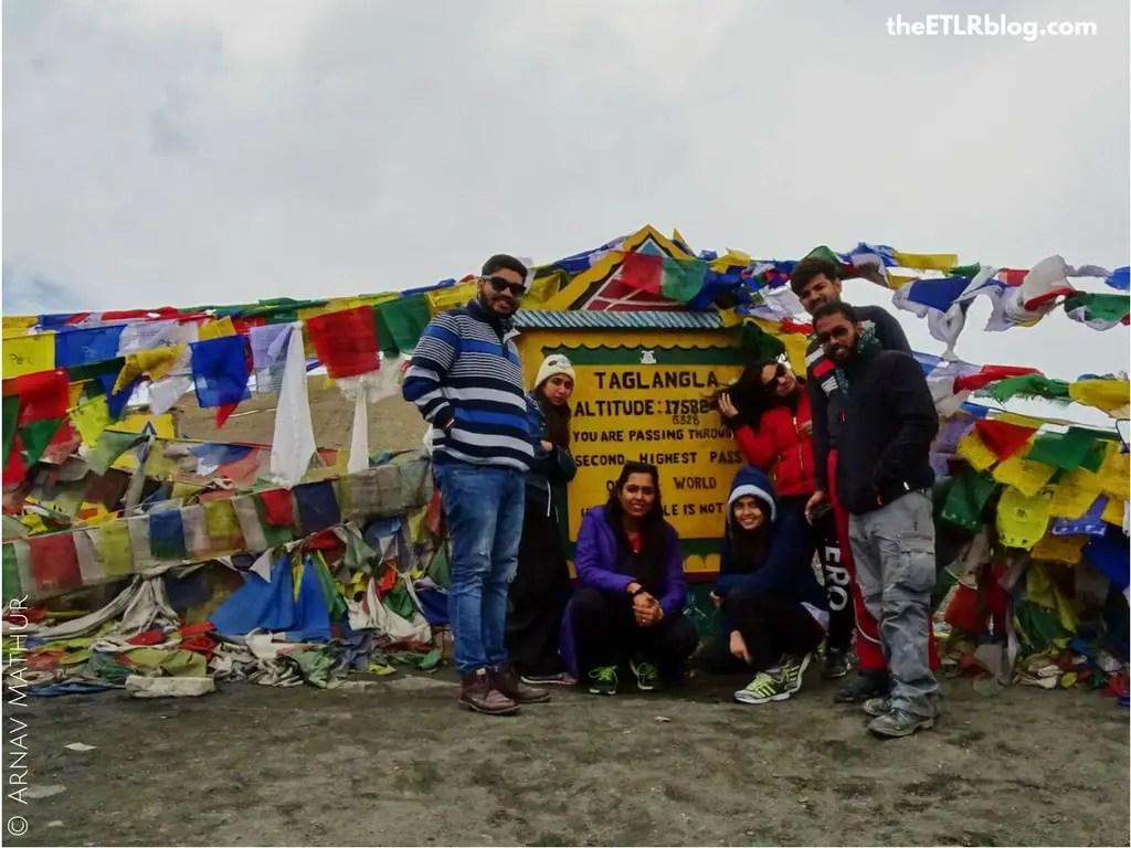 Ladakh your Instagram favorite destination - Taglang La