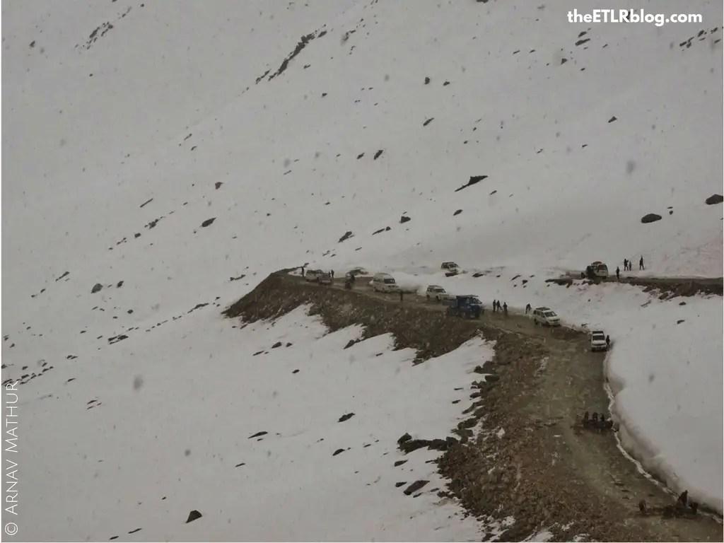 Ladakh your Instagram favorite destination - Hail Storm