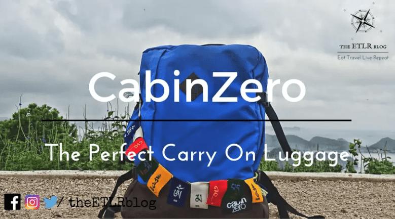 CabinZero Backpack Review- The 44 L Travel Companion 54f37a904cef3