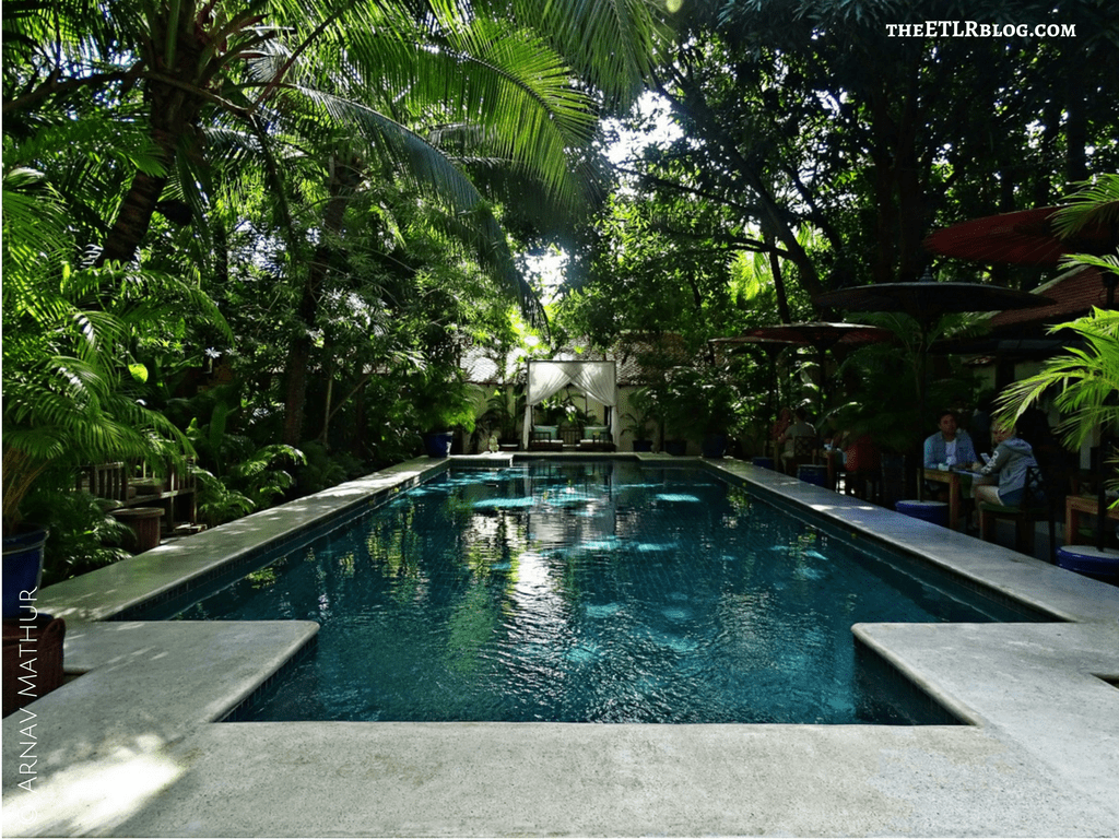 The Lush Pool at The Pavilions Phnom Penh
