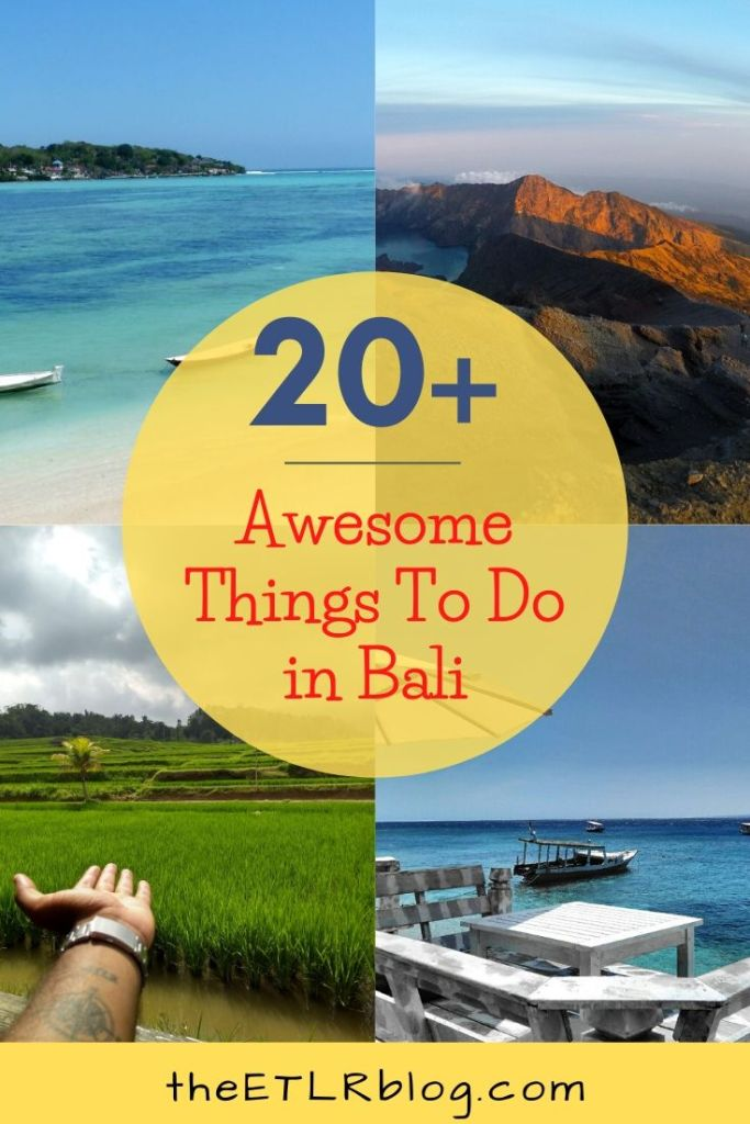 20+ Awesome Things To Do In Bali | Bali Travel Guide |