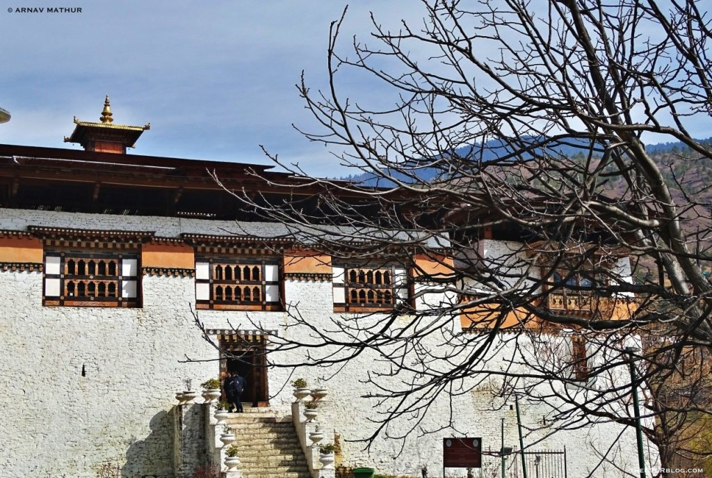 Simtokha Dzong - 7 Day Road Trip to Bhutan