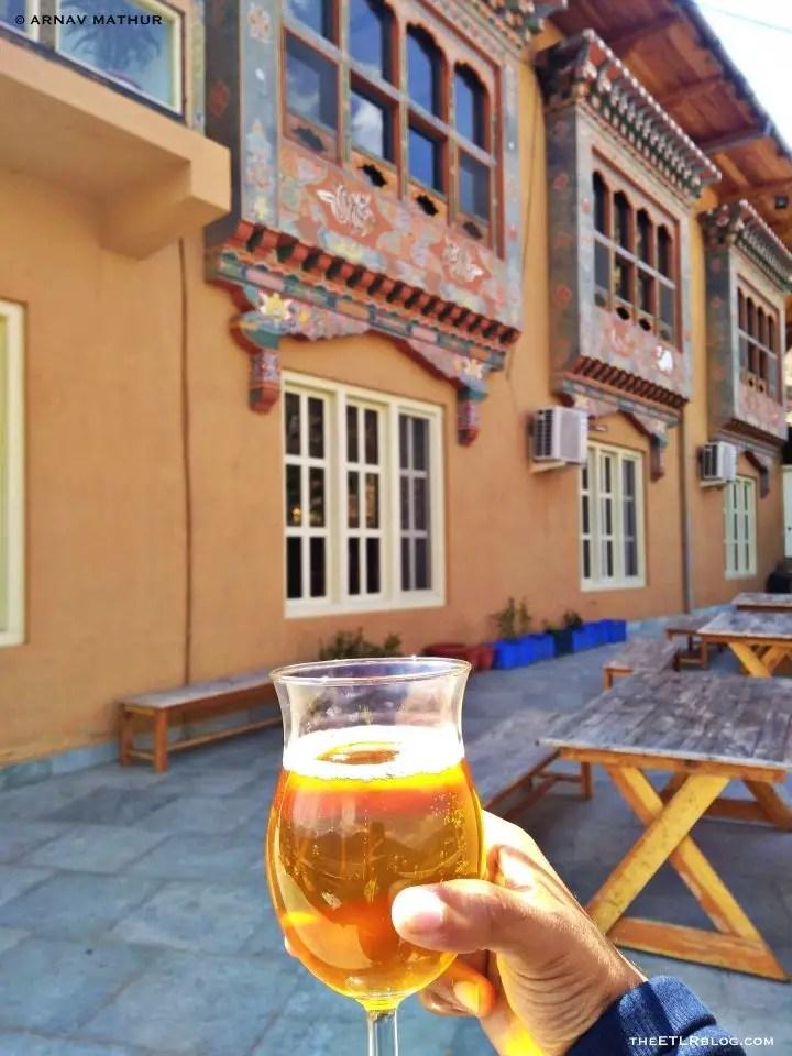 Namgay Artisanal Brewery 7 Day Bhutan Itinerary