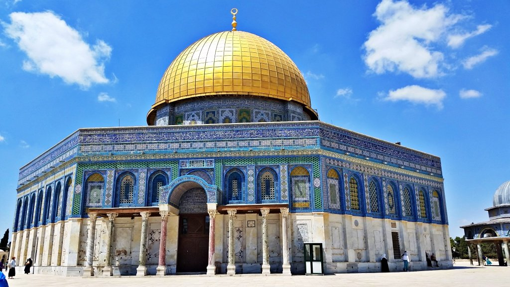 Dome of Rock Jerusalem Israel Trip
