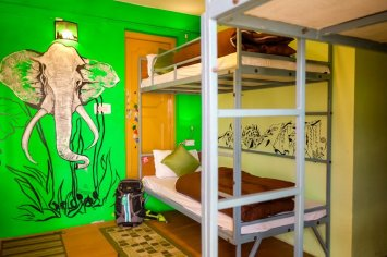 Dorms at The Bunker Hostel ©Karan Lakhmani