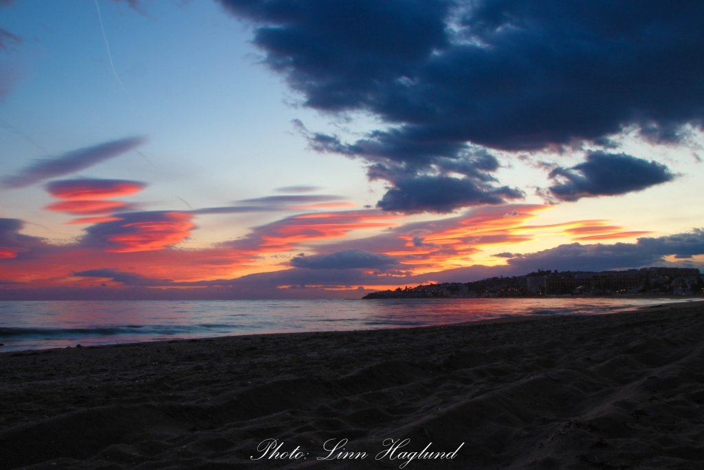 La Cala de Mijas Sunset Time - Eat Travel Live Repeat