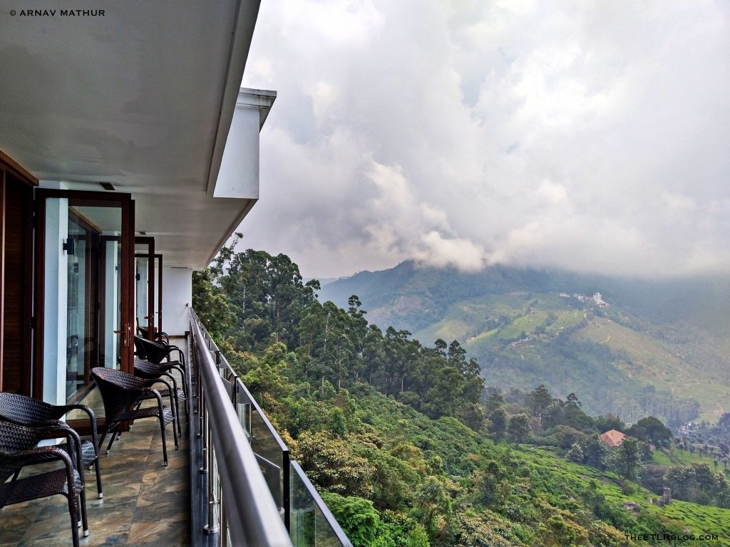 View from Balcony - Amber Dale Munnar