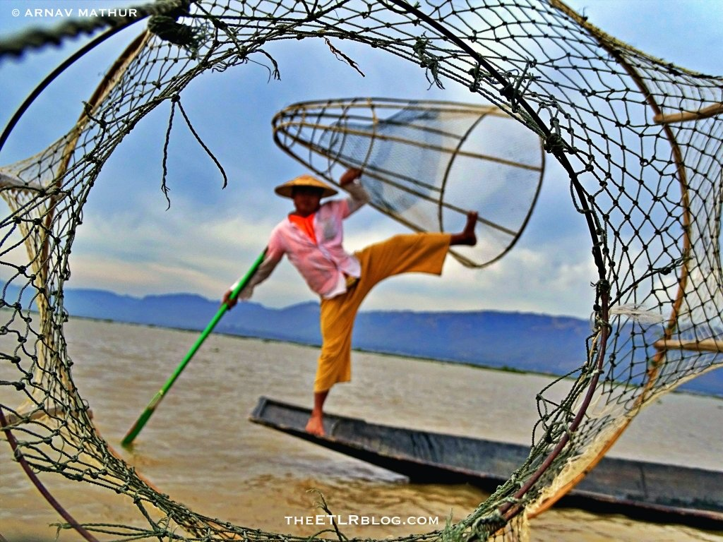 the famous Inle Lake fishermen