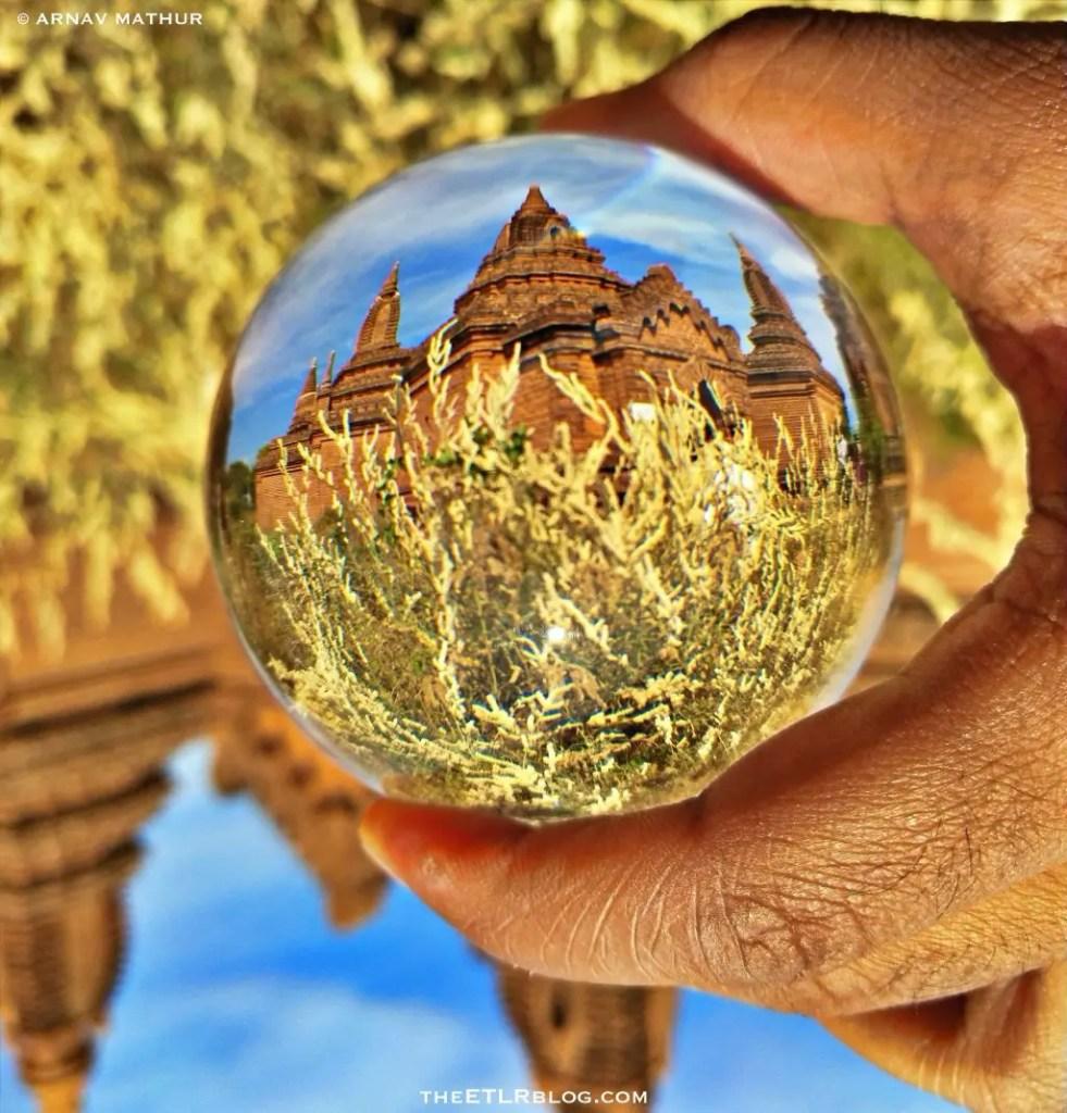 Bagan lensball photography