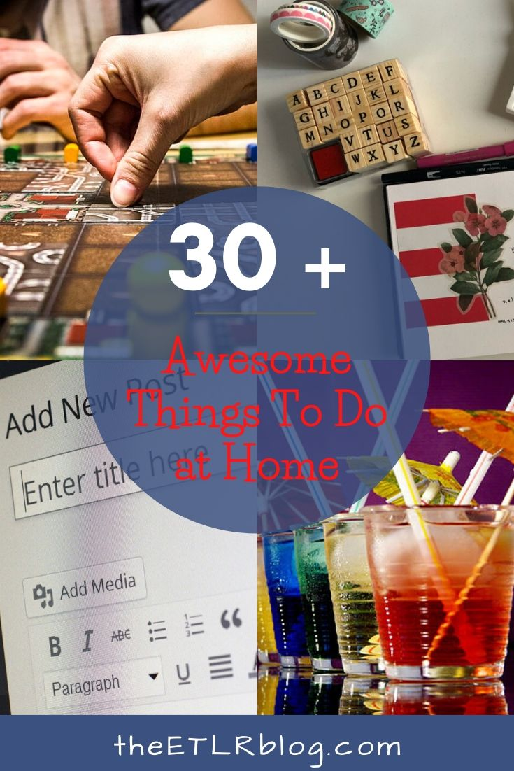 30+ Awesome Things To At Home Rather than Netflexing