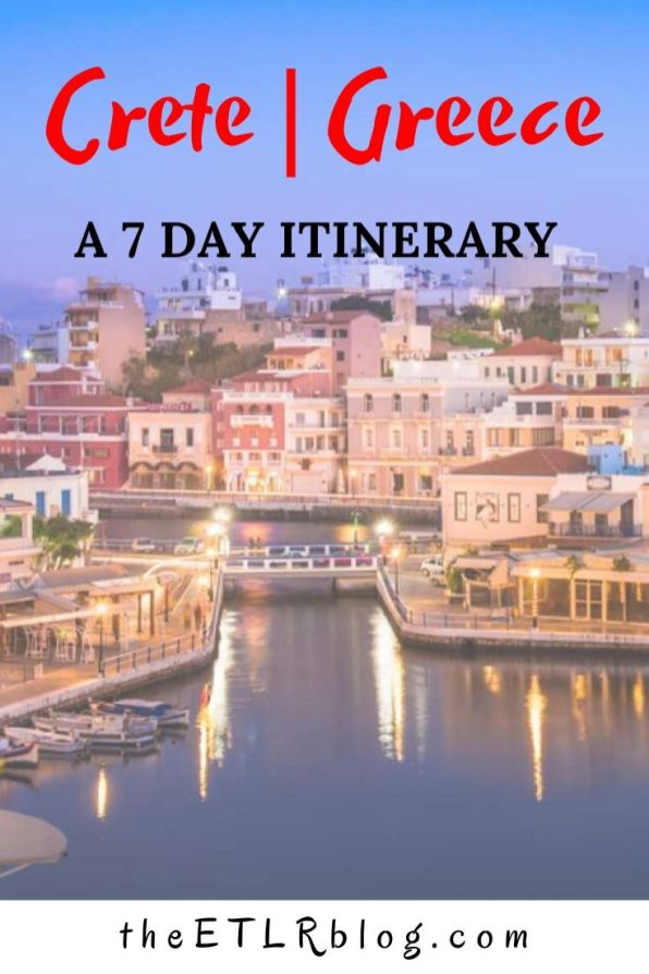 Crete - A 7 Day Travel Itinerary and Travel Guide