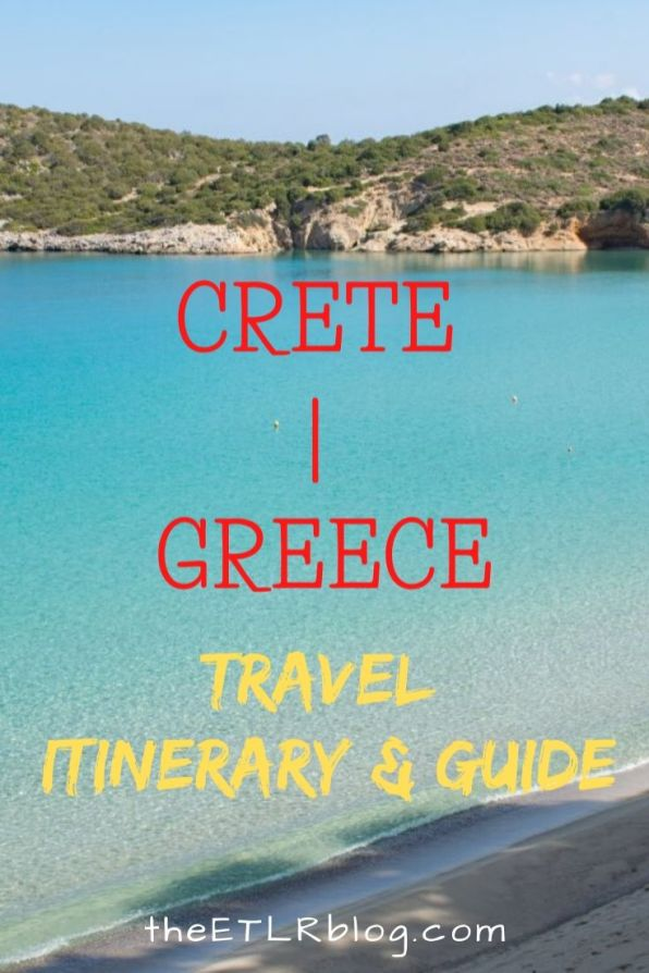 One Week in Crete - Travel Guide and Itinerary
