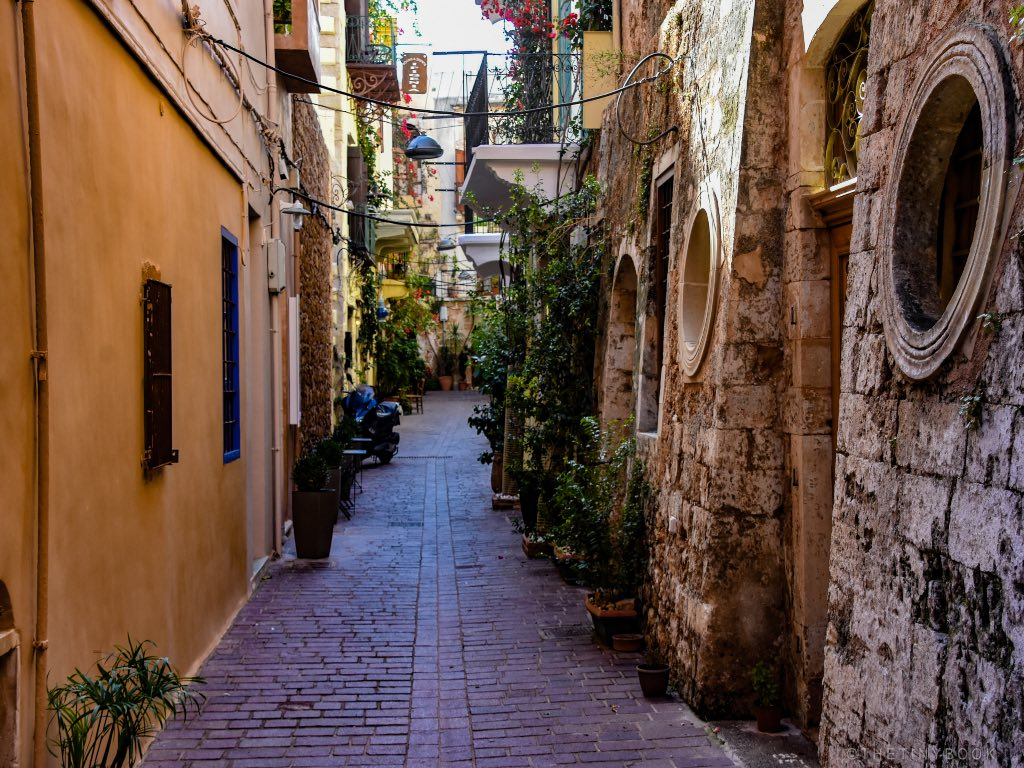Streets of Chania | Crete Travel Itinerary