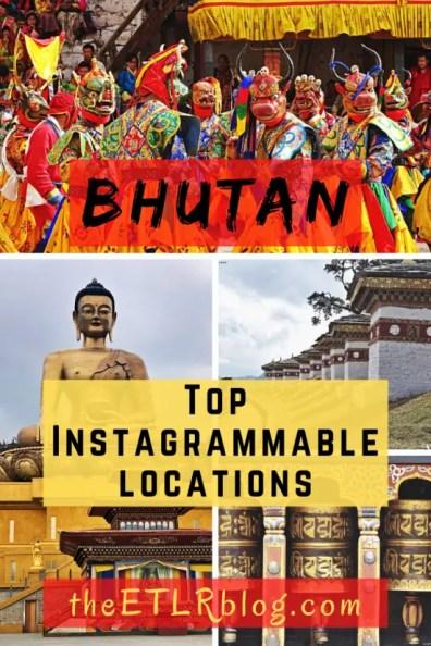 Top Instagrammable locations in Bhutan