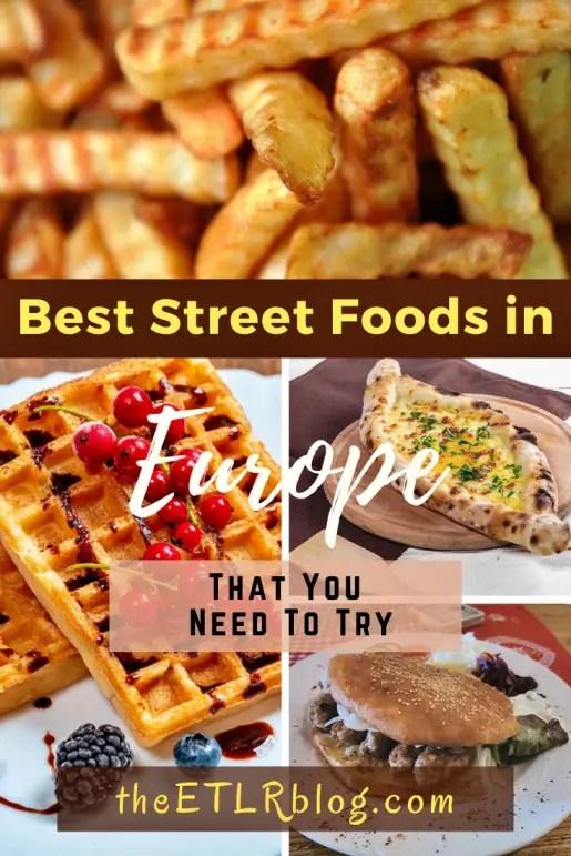 Europe Foodie Bucket List | theETLRblog
