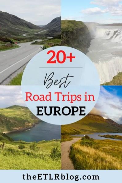 Best Road Trips - Europe Travel Bucket List | theETLRblog
