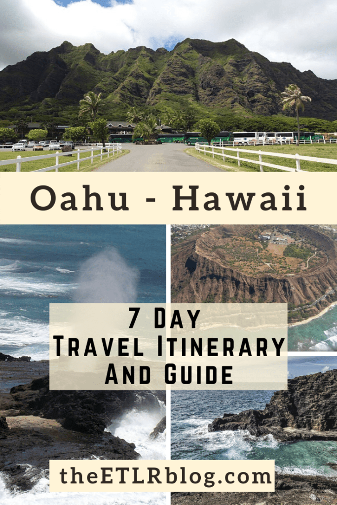 7 Day Oahu Travel Itinerary | theETLRblog