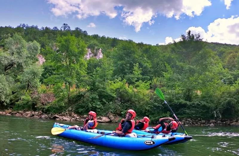 Kayaking in Bihor County