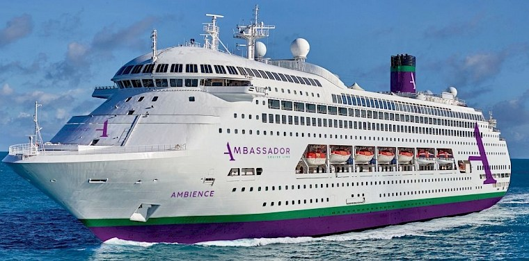 Cruise on these 5 scenic routes with Ambassador Cruise Line