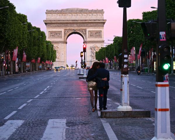 scene from Paris