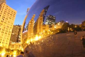 You can't go to Chicago without seeing the bean!
