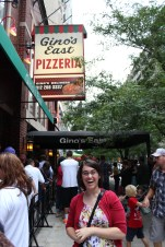 This is where we ate the best Chicago deep dish pizza ever...EVER