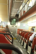 We rode the Metra everywhere today!