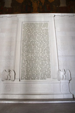 And of course there was the Gettysburg Address.