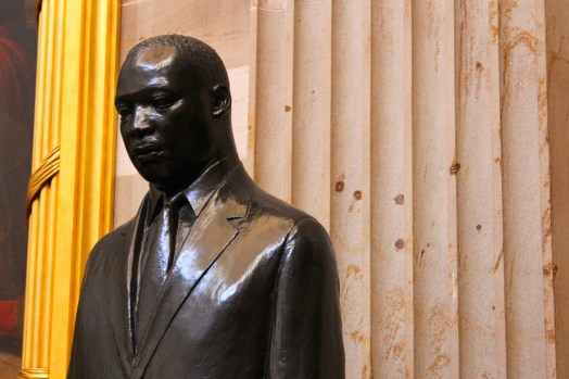 MLK statue in the Capitol