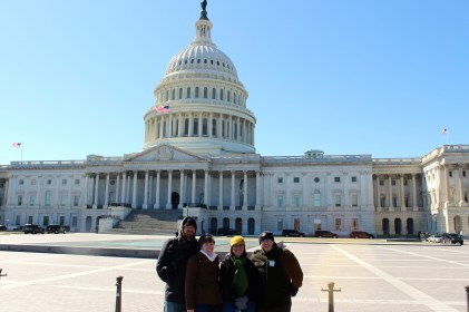 We got to take a tour of the Capitol!